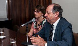 Ministro Clelio Compolina  e Presidenta do SBPC Helena Nader abrem a Reunião.