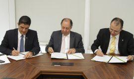 11.12 - Assinatura de protocolo de intenções com o Ministério do Turismo