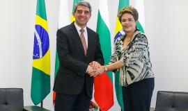 01.02 - Presidenta Dilma se encontra com o presidente da Bulgária