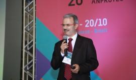 Presidente da Anprotec, Jorge Audy, durante a 26ª Conferência da entidade.