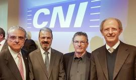 Robson Braga de Andrade, Jorge Audy, Sergio Risola, Pedro Wongtschowski.