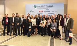 Delegação brasileira com Josep Piqué, presidente da IASP, na 34ª Conferência da IASP