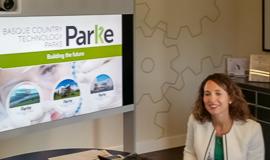 Cristina Andres, diretora de inovação do Parque de Bizkaia.