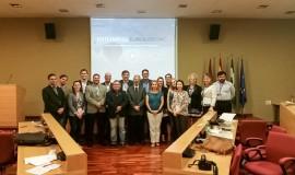 Comitiva da Missão Técnica em Málaga, na Espanha