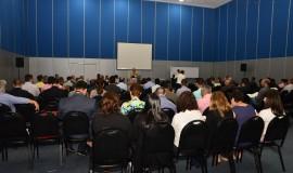Palestras de Luis Sanz, diretor-geral da IASP, durante a 27ª Conferência Anprotec