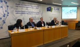 Mesa de abertura do ELAN Network Brazil 2017