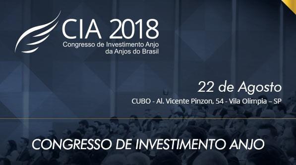 c82afdb1f930 No próximo dia 22 de agosto acontecerá a 6ª edição do Congresso de  Investimento Anjo 2018, promovido pela Anjos do Brasil, no Auditório CUBO,  localizado no ...