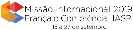 logo Missão França e Conferência IASP 2019