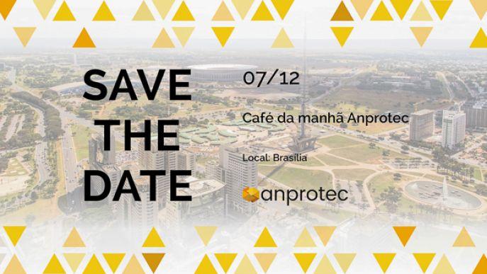 CAFÉ DA MANHÃ ANPROTEC <font size='3' style='font-weight:400 !important; font-family:Arial !important;'><br /><i> Realizar um balanço das atividades da Anprotec ao longo de 2017 e planejar, junto a associados e parceiros, ações estratégicas futuras. Esse é o principal objetivo do Café da Manhã Anprotec & Parceiros, marcado para o próximo dia 7 de dezembro, em Brasília (DF).
